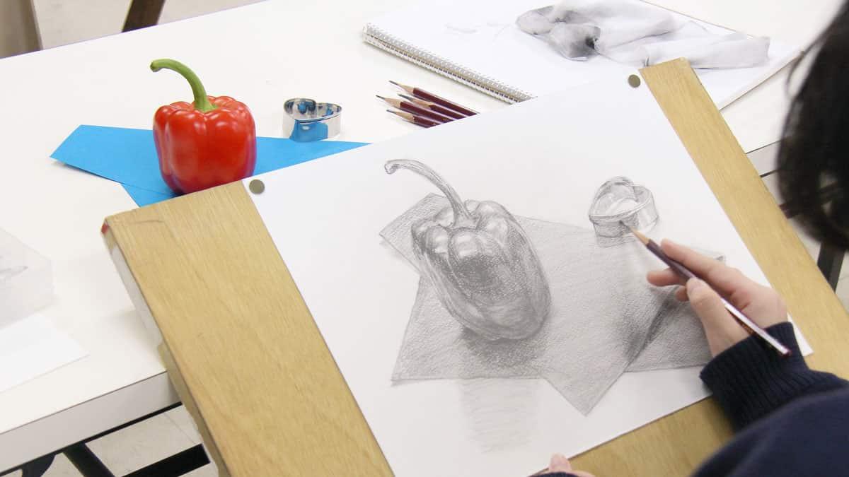 美術系高校受験対策