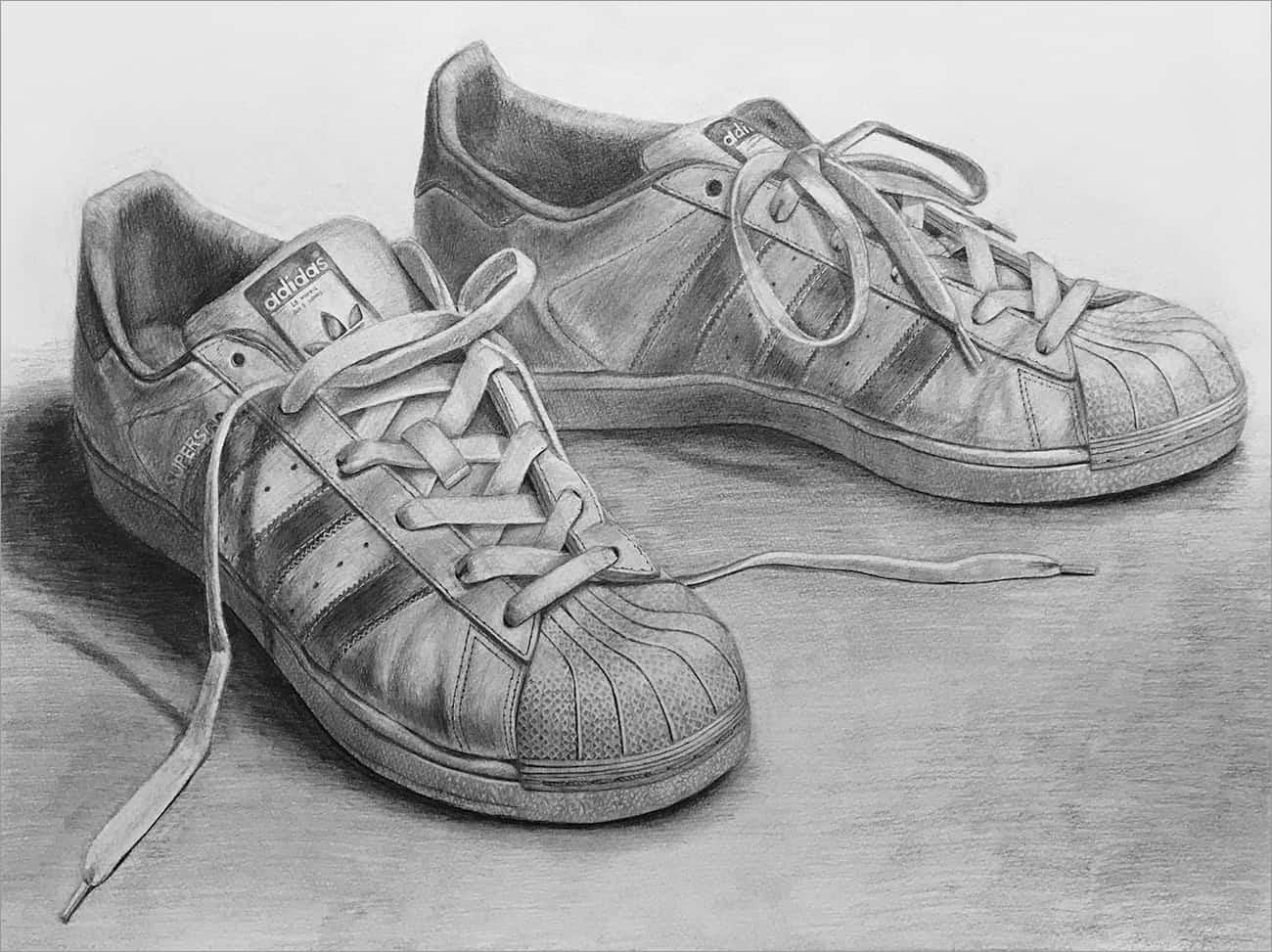 第4課題 靴の細密デッサン:復習